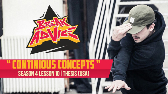 Image to: Break Advice — 10 урок (4 сезон): Continious Concept
