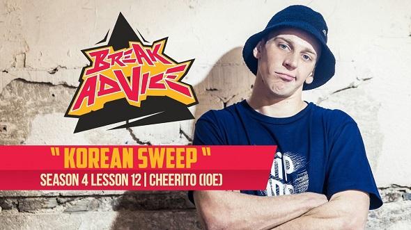 Image to: Break Advice — 12 урок (4 сезон): Korean Sweep