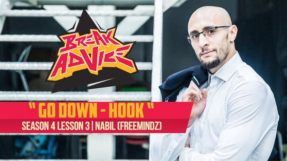 Image to: Break Advice — 3 урок (4 сезон): Go down hook