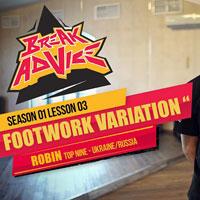 Image to: Break Advice — 3 урок (1 сезон): Footwork Variation