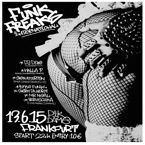 Image to: Funk Freaks Europe Tour 2015 promo mix