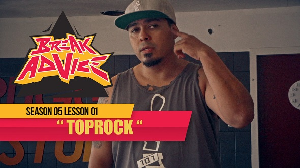 Image to: Break Advice — 1 урок (5 сезон): Toprock
