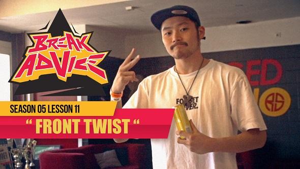 Image to: Break Advice — 11 урок (5 сезон): Front Twist