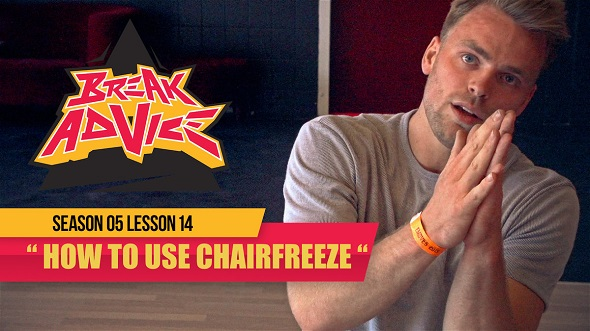 Image to: Break Advice — 14 урок (5 сезон): Chairfreeze