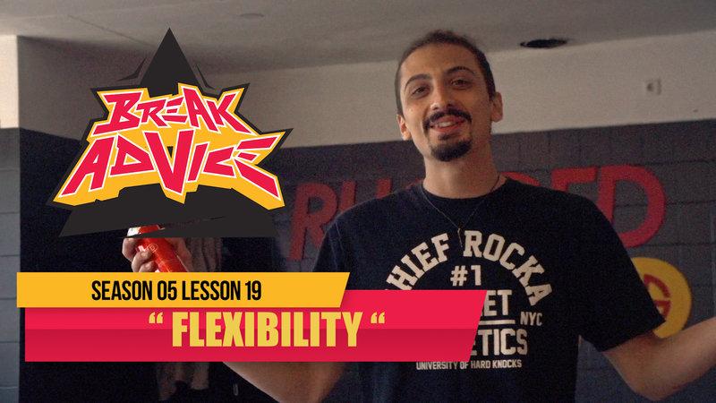 Image to: Break Advice — 19 урок (5 сезон): Flexibility
