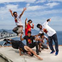 Image to: Red Bull BC One All Stars прокачивают Рио Де Жанейро