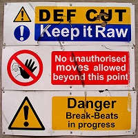 Image to: Def Cut — Keep it Raw