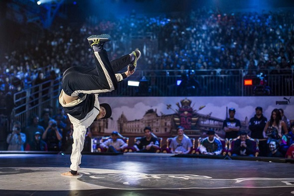 Menno на Red Bull BC One World Final в Париже, Франция 29 ноября 2014