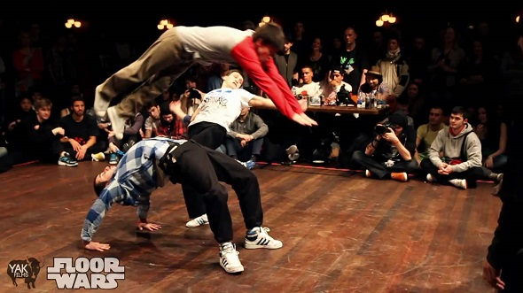 Image to: Floor Wars 2011 — Bboy Battle Recap