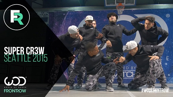 Image to: Super Cr3w | FRONTROW | World of Dance Seattle 2015